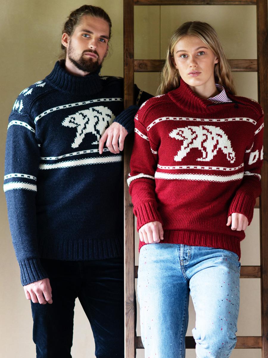 Dale Unisex Sweater Isbjorn